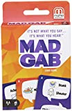 Mad Gab Picto-Gabs Card Game by Mattel