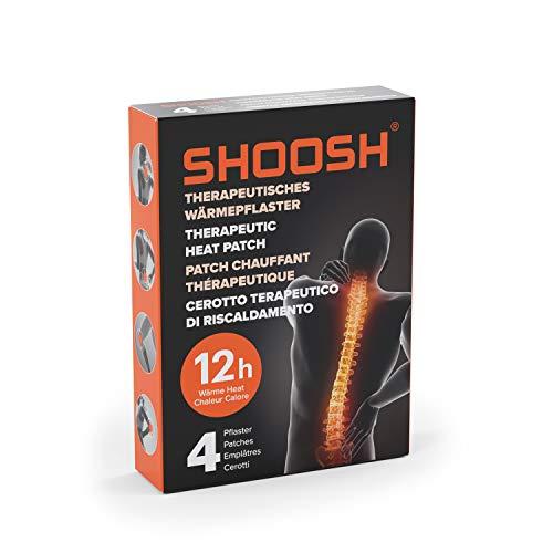 SHOOSH Wärmepflaster, 4 Pflaster