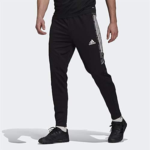 adidas CONDIVO21 Training Pant Slim PRIMEBLUE Les Pantalons De Survêtement Homme, Noir Blanc, L