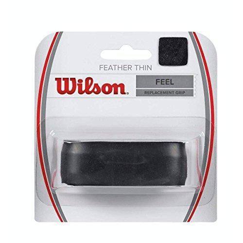 Wilson Unisex Basisgriffband Featherthin, schwarz, 1 Stück, WRZ4204BK
