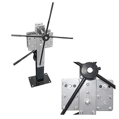 MH GLOBAL Sheet Metal Pedestal Band Ring Steel Roller Roll Metal Bending Machine
