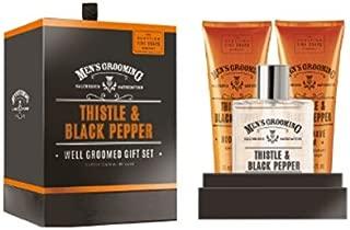 Scottish Soaps Mens Thistle Well Groomed Gift Set 3pc
