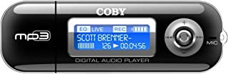 COBY MP-C841 MP3 Player w/256 MB Flash Memory & USB Drive (Discontinued by manufacturer)