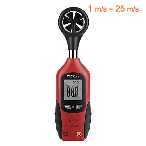Anemómetro, Termómetro Tacklife DA02...
