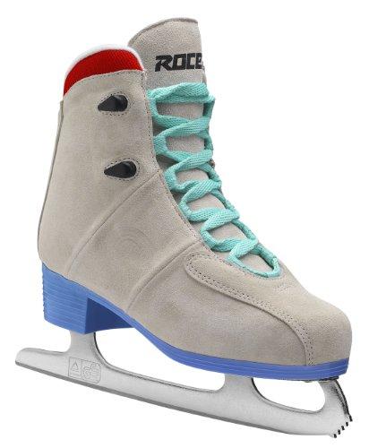 Roces Women's Upbeat Ice Skates - Multicoloured Bizarre Suede-Blue, 40 (EU)