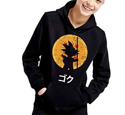 The Fan Tee Sudadera de NIÑOS Dragon Ball Goku Vegeta Bolas de Dragon Super Saiyan 064 12-13 años