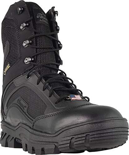 "Thorogood 834-6018 Men's Veracity GTX - 8"" Waterproof Tactical Boot, Black - 12 W US"