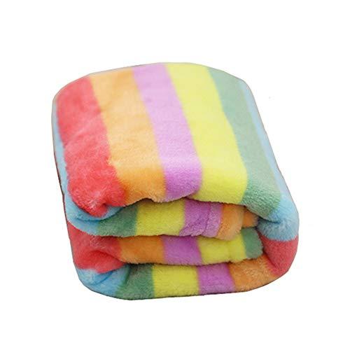 Sforza Premium Flanell Hund Decke Pet Decke Mikrofaser Haustier Regenbogen Flanell warme Decke schnell trocken schnell trocken saugfähige trockene Decke