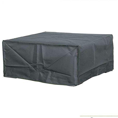 Vida GmbH Deluxe Housse de Protection pour canapé de Jardin en rotin 185 x 165 x 70 cm