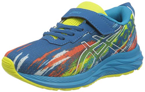 Asics Pre Noosa Tri 13 PS, Road Running Shoe, Reborn Blue/Sour Yuzu, 33 EU