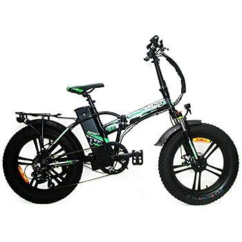 Reset Fat-Bike - Bicicleta eléctrica Plegable con pedaleo asistido ...