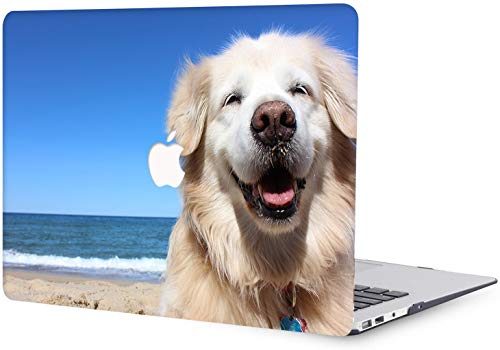Plastic Hard Shell Case Compatible with MacBook Air 13 inch Case Old Version 2010 2011 2012 2013 2014 2015 2016 2017 Release A1369 A1466 - Pet Dog