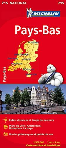 Preisvergleich Produktbild Carte NATIONAL Pays-Bas Michelin