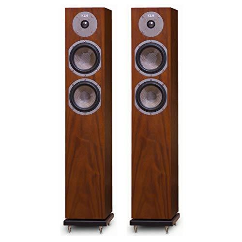 Great Price! KLH Cambridge Floorstanding Speakers - Pair (Walnut)
