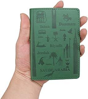 Card & ID Holders - Travel Designer Saudi Arabia Green Passport Cover Women Men Slim Credit Card Holder License Ticket Wal...