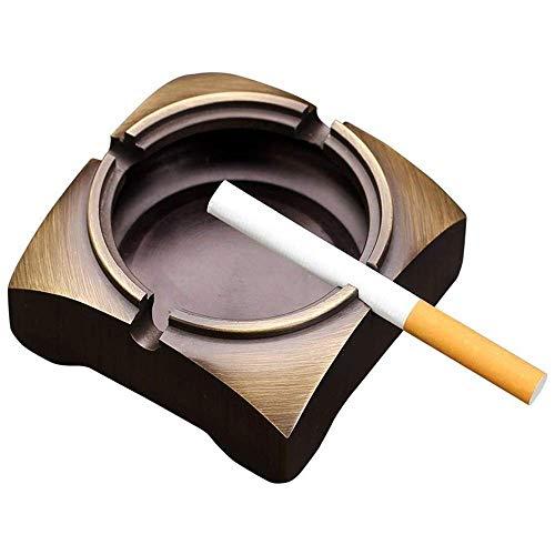 SHUMEISHOUT Cenicero Puro Retro Cerámica al Aire Libre Cenicero con Ceniza del cigarro del cigarro Titular de Ceniza para el hogar y la Oficina Cenicero Personalizado Decoración de la decoración de l