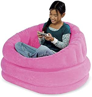 Plush Inflatable Cafe Chair (Magenta)