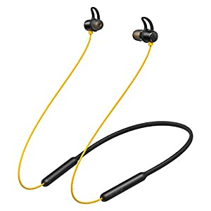 realme Buds Wireless in-Ear Bluetooth 5.0, Deep Bass, IPX4 Sweatproof Earphone with mic (Yellow)
