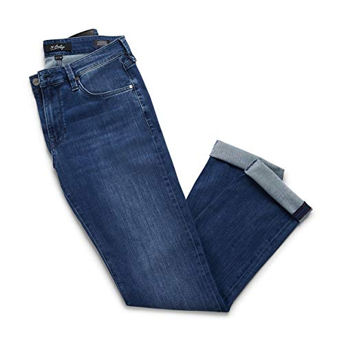 34 Heritage Men's Charisma Relaxed Classic Denim, Mid Urban 34 x 32