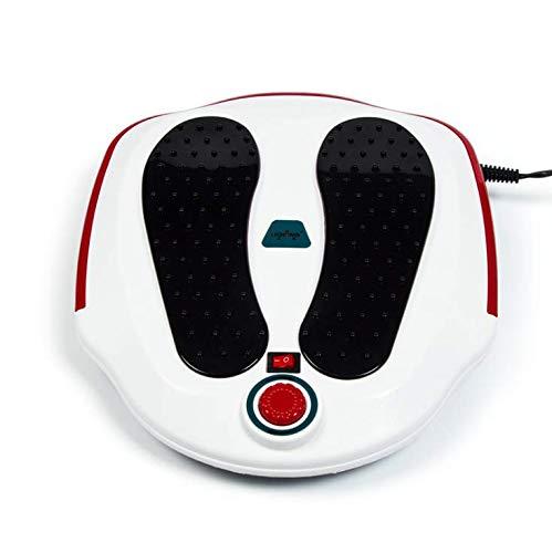 HAOT Shiatsu Fussmassagegerät mit Wärmefunktion, Flexible Kneading Massageköpfen, Massagegeräte für für alle Fußgrößen, Fußwärmer, elektrisches Fußmassagegerät für Zuhause und Büro Entspannung