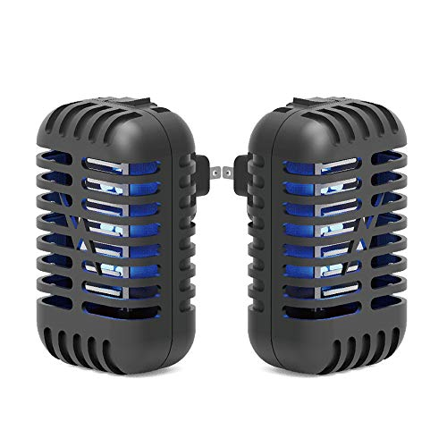 Micnaron Indoor Plug-in Bug Zapper - Mosquito Trap with UV Light - Indoor Mosquito Killer - Electric Insect Repellent - Gnat Trap for Mosquitoes Fruit Flies and Flying Gnats