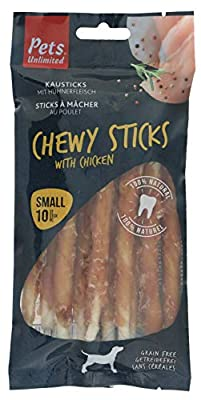 Pets Unlimited Chewy Sticks with Chicken, 10pc