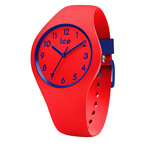 Ice-Watch - ICE ola kids Circus - Rote Jungenuhr mit Silikonarmband - 014429 (Small)