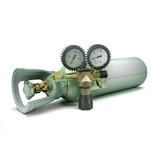REPORSHOP - Botella De Nitrogeno Seco 5 litros Manorreductor Presion
