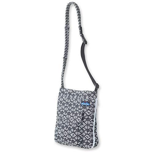 KAVU Sidewinder Crossbody Bag With Adjustable Rope Strap - Static Rhombus