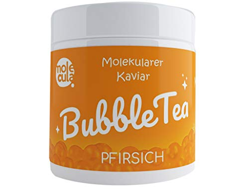 Bubbletea Tee Popping Boba Tapioca Molekularer Kaviar Pfirsich 800g Perlen