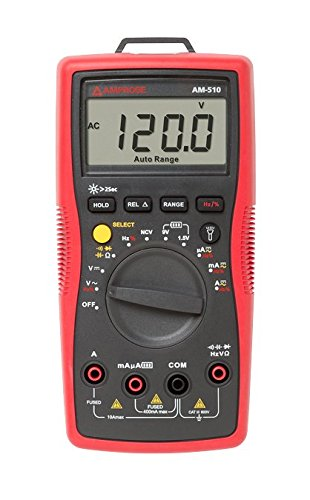 Amprobe AM-510 Commercial/Residential Multimeter with...