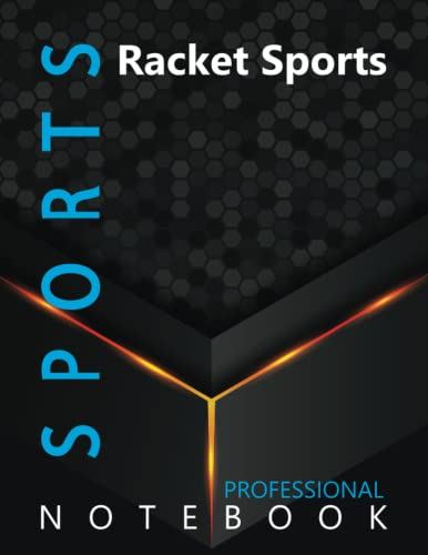 """Compare Textbook Prices for Sports, Racket Sports Ruled Notebook, Professional Notebook, Writing Journal, Daily Notes, Large 8.5"""" x 11"""" size, 108 pages, Glossy cover  ISBN 9798496435116 by ProSportz Cre8tive Press"""