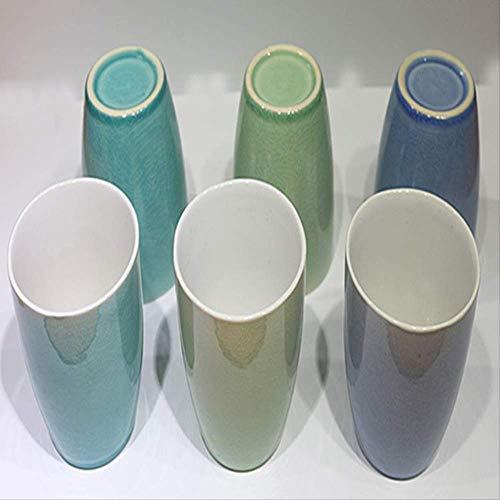 ZPF Copa Orden personalizado Tazas y tazas de café de cerámica Vajilla de cerámica Vajilla de cerámicaVerde