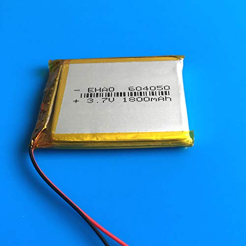 rpbll 604050 3,7 V 1800 mAh Lipopolymer Lithium-Akkuzellen für MP3 GPS Navigator DVD Power Bank Tablet PC Tastatur PAD