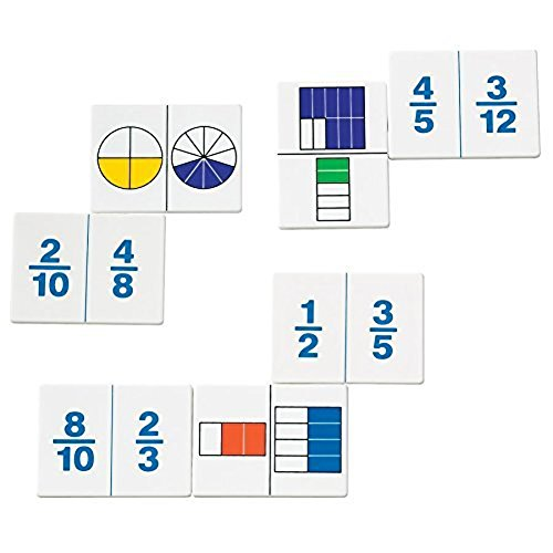 Simply Magic 138 PCS Magnetic Fraction Tiles /& Fraction Circles Math Manipulatives for Elementary School Fraction Strips /& Bars Fraction Magnets /& Resources Magnetic Learning Resources