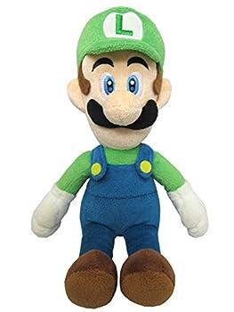 Sanei Super Mario All Star Collection 10  Luigi Plush Small