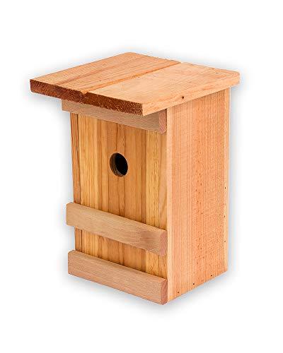 Nistkasten Meisen Meisennistkasten Nistkästen Vogelhaus Vogelhäußchen Massivholz Vogelhaus 25,5 x 16 x 17 cm Einflugloch 28mm
