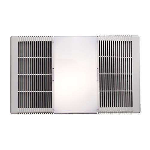 Broan-Nutone 668RP Ceiling Bathroom Exhaust Fan and Light Combo, 100-Watt Incandescent Lighting, 4.0 Sones, 70 CFM , White