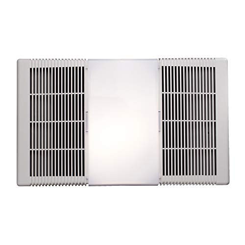 Broan-Nutone 668RP Ceiling Bathroom Exhaust Fan and Light Combo, 100-Watt Incandescent Lighting, 4.0 Sones, 70 CFM