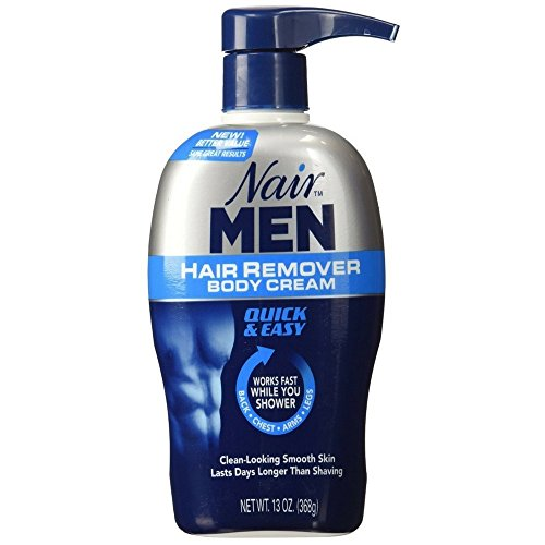 Price comparison product image Nair For Men Hair Removal Body Cream 13 oz (Pack of 7)
