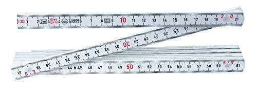 Wiha 61602 MaxiFlex Folding Ruler, Metric, Outside Reading