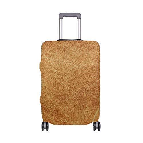 Funda Protectora para Maleta de Viaje, Estilo Vintage, marrón, Licra, para Adultos,...