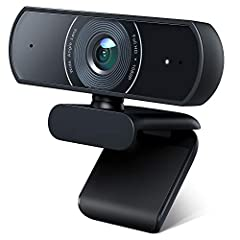 ✌【HD 1080P Video Picture Quality】The 1080P webcam with 6-layer glass HD lens & 1/2.9'' CMOS image sensor delivers sharp and crystal clear video at a fluid 30 frames/sec, specially designed PC Webcam for professional quality video chatting or video re...