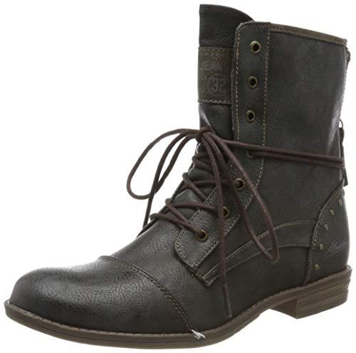 Mustang Damen 1157-508-259 Combat Boots, Grau (259 graphit), 37 EU