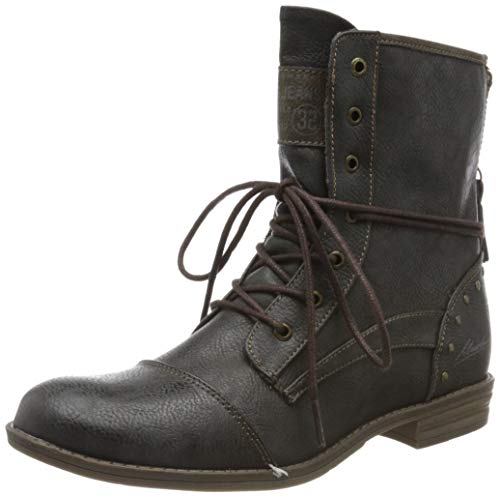Mustang Damen 1157-508-259 Combat Boots, Grau (259 graphit), 41 EU