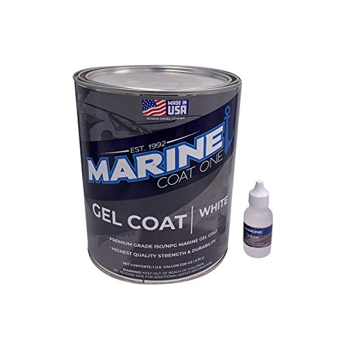MARINE COAT ONE Premium Marine Gelcoat with Tinting Pigments for Your...