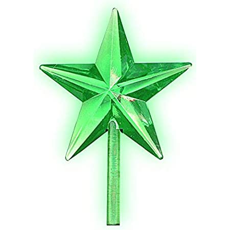Clear Modern Star Topper for Ceramic Christmas Tree