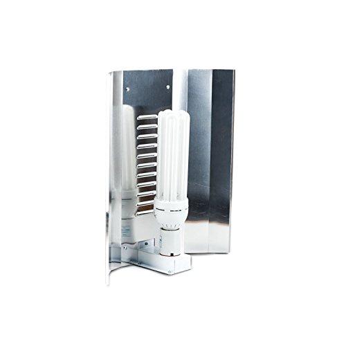 Reflektor ESL 50cm E40 für Energiesparlampen Lampen Top Reflexion Grow Glänzend