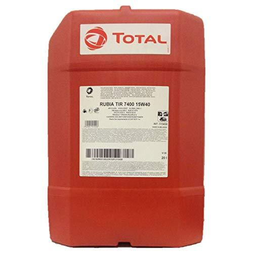 Total 20 Liter Rubia TIR 7400 15W-40
