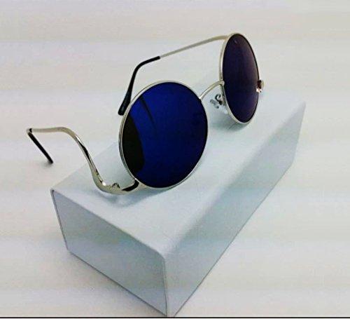 William 337 Gafas de Sol Radian Metal Gafas de Sol Fashion Urban Style-X220 (Color : #4)
